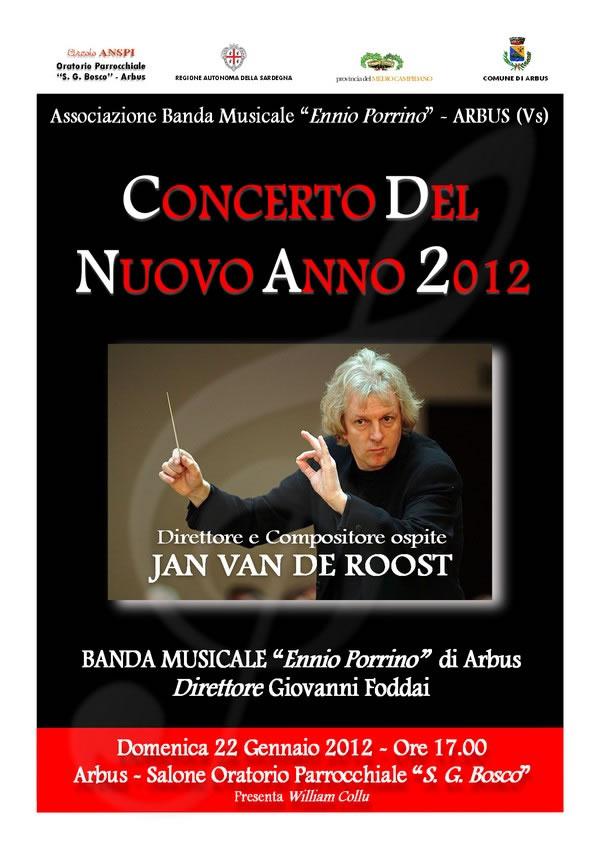 Concerto 22-01-2012 - Banda Musicale 'Ennio Porrino' - Arbus (VS)