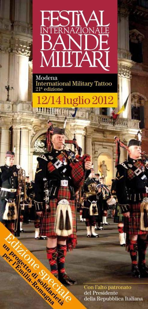 Festival Internazionale Bande Militari 2012