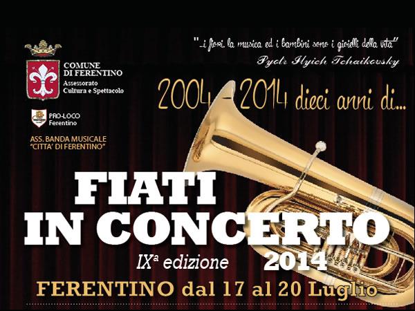 Fiati in Concerto 2014 - IX Edizione