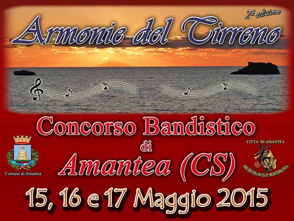 """Concorso Bandistico """"Armonie del Tirreno"""" II edizione"""