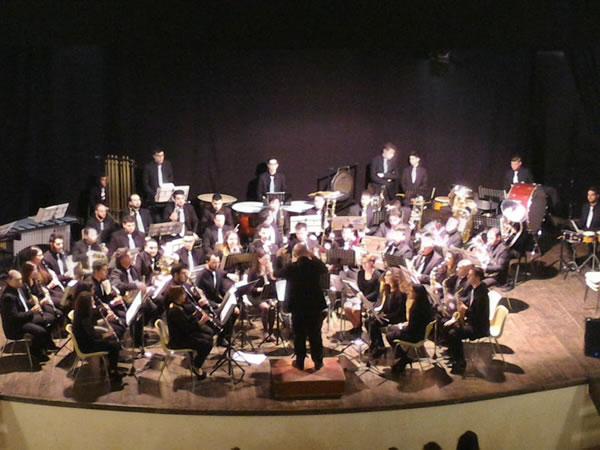 Comincia alla grande il viaggio della Pentamusa Wind Orchestra