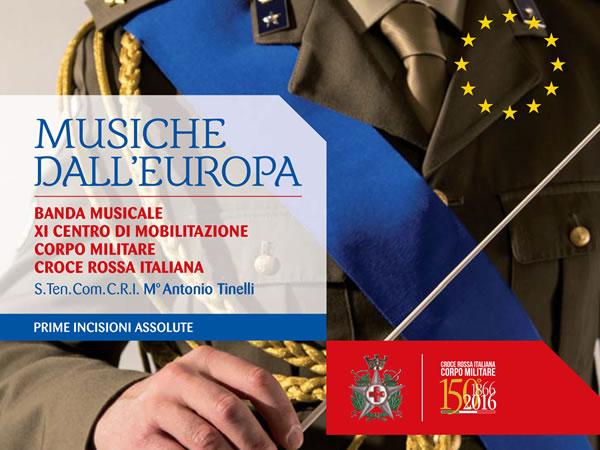 Musiche dall'Europa: il CD per il 150° del Corpo Militare della Croce Rossa Italiana