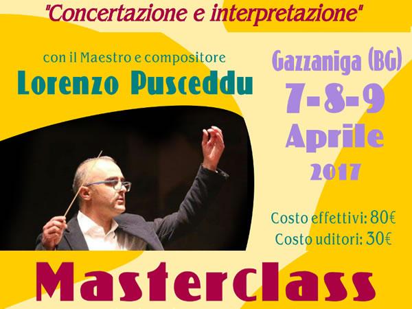 Concertazione e Interpretazione - Masterclass con Lorenzo Pusceddu