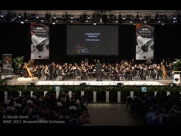 La Rovereto Wind Orchestra al Concorso Mondiale in Olanda