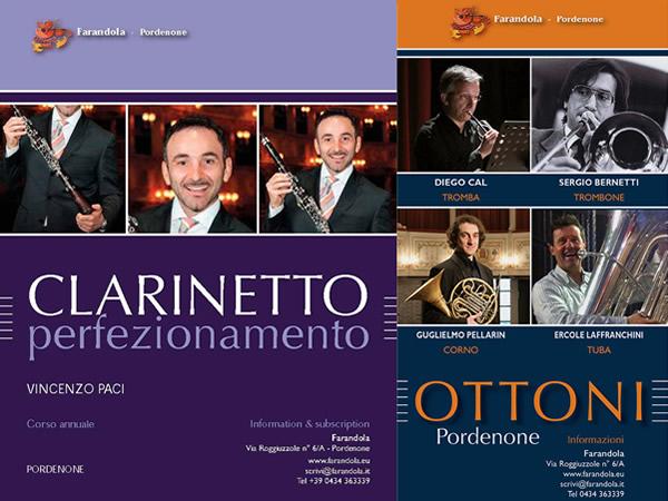 Corso di Perfezionamento in Clarinetto - Corso di Perfezionamento in Ottoni