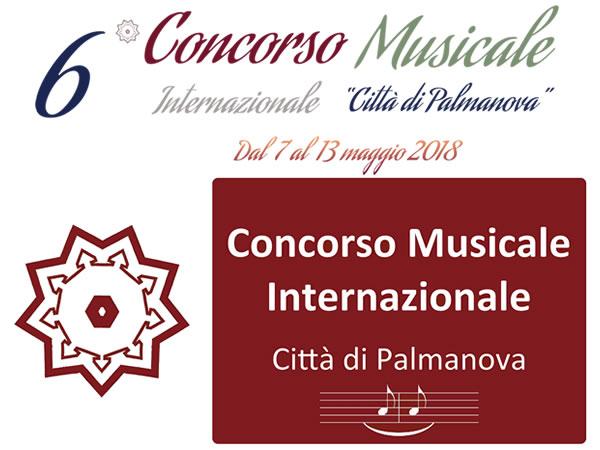"""VI Concorso Musicale Internazionale """"Città di Palmanova"""""""