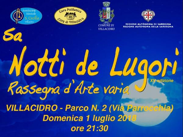 Sa notti de Lugori XV edizione