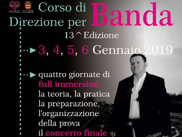 XIII Edizione Corso di Direzione per Banda con R. Daelemans