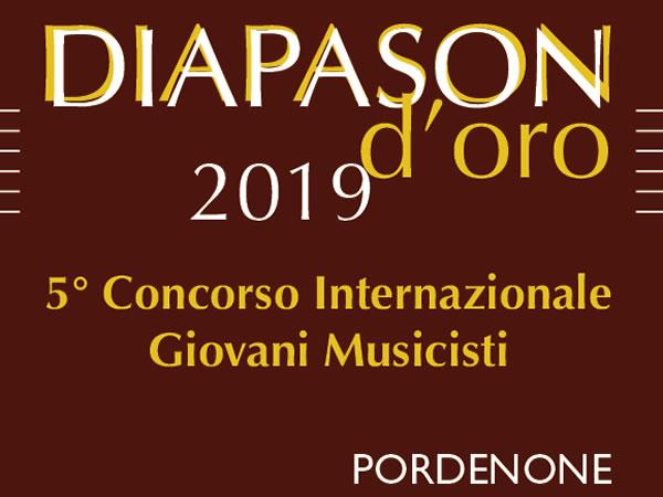 Diapason d'oro - V Concorso internazionale per giovani musicisti