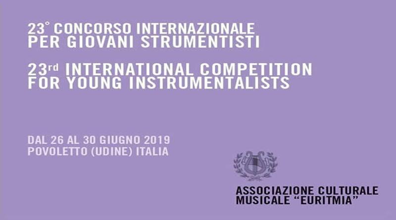 XXIII Concorso Internazionale per Giovani Strumentisti