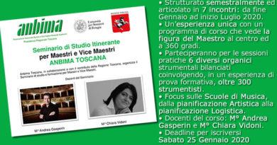 Seminario itinerante per Maestri e Vice Maestri