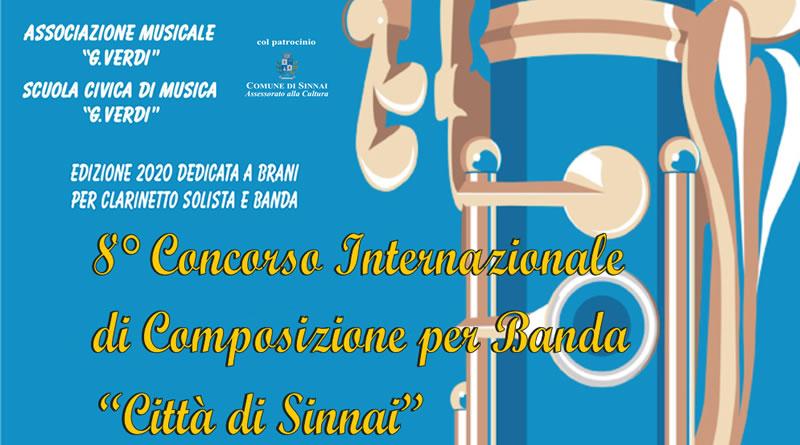 """8° Concorso Internazionale di Composizioni per Banda """"Città di Sinnai"""" 2020"""