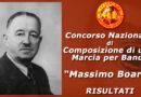 """Concorso Nazionale di Composizione di una Marcia per Banda """"Massimo Boario"""": i risultati"""