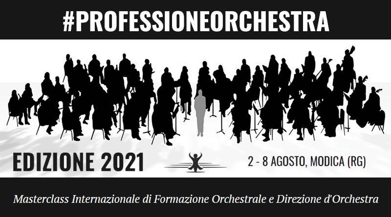 Masterclass Internazionale di Formazione Orchestrale e Direzione d'Orchestra #PROFESSIONEORCHESTRA