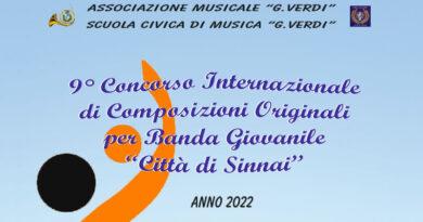 """IX Concorso Internazionale di Composizioni Originali per Banda Giovanile """"Città di Sinnai"""""""